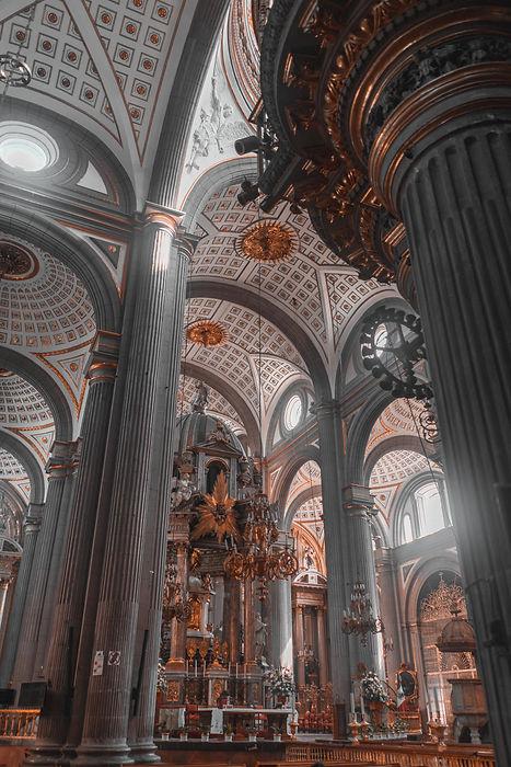 Католический кафедральный собор в Мексике