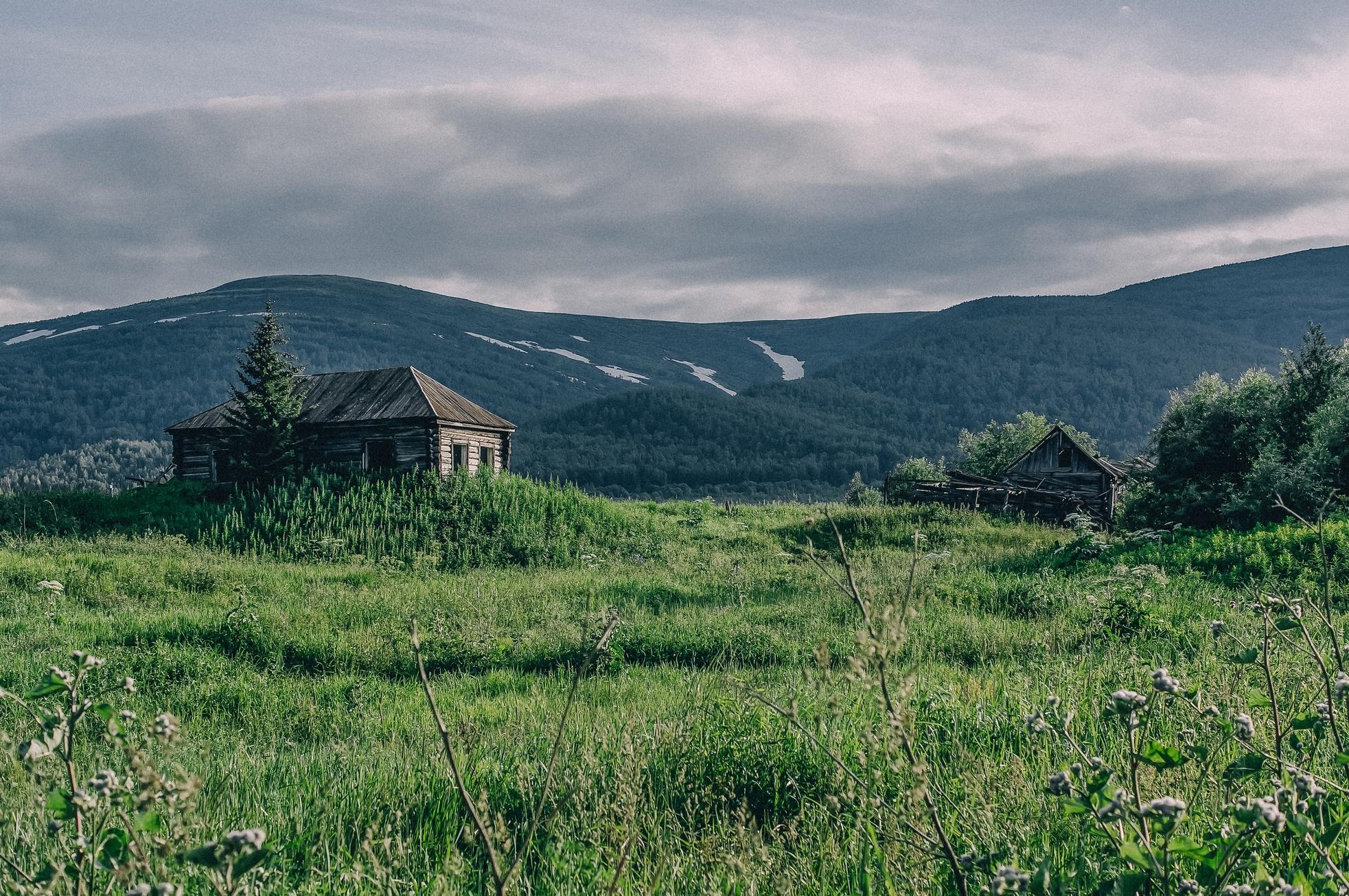 Заброшенные поселки Хакасии