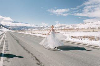 Зимняя свадьба в Горном Алтае