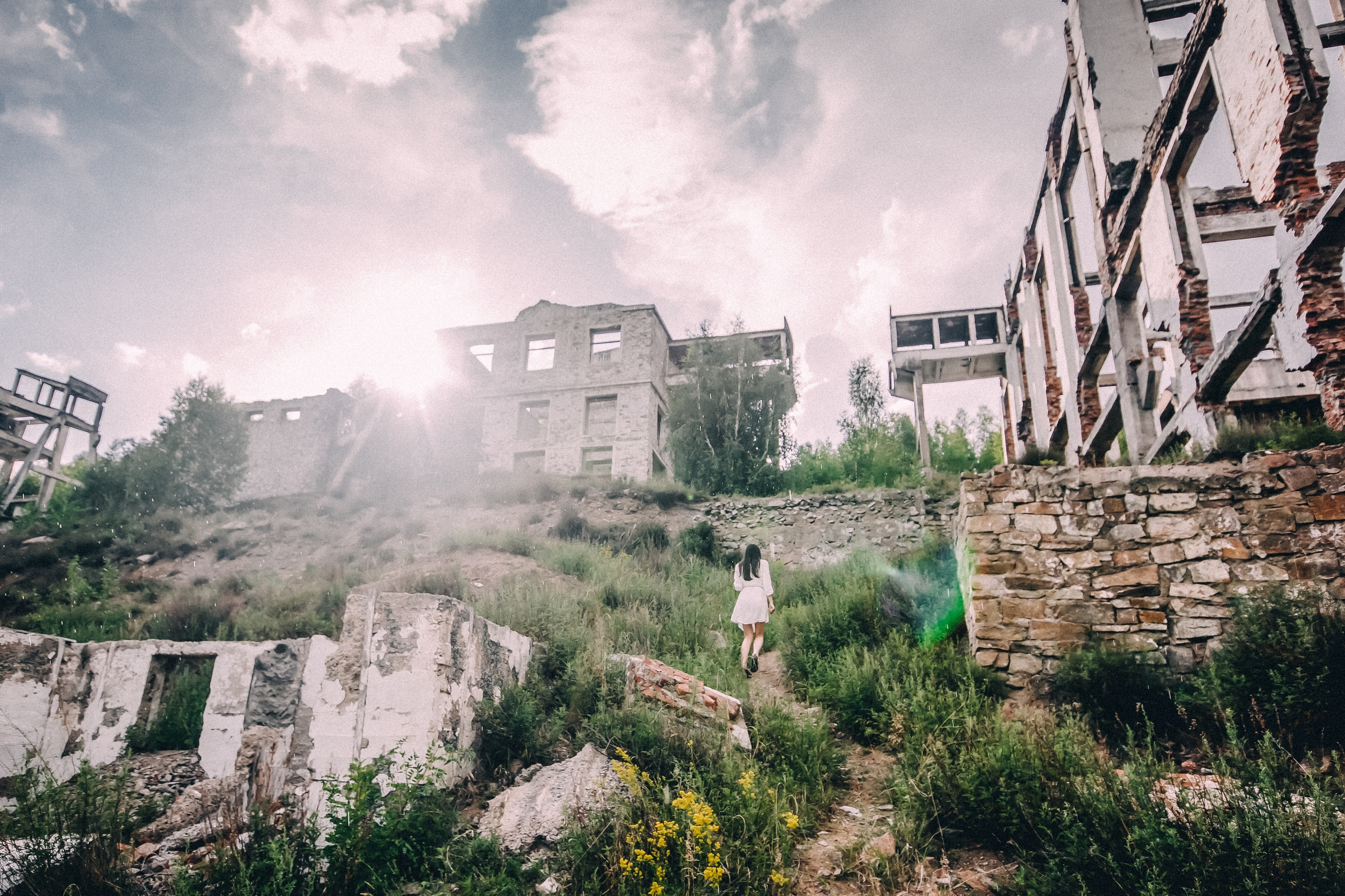Заброшенный ГОК в Хакасии, Туим