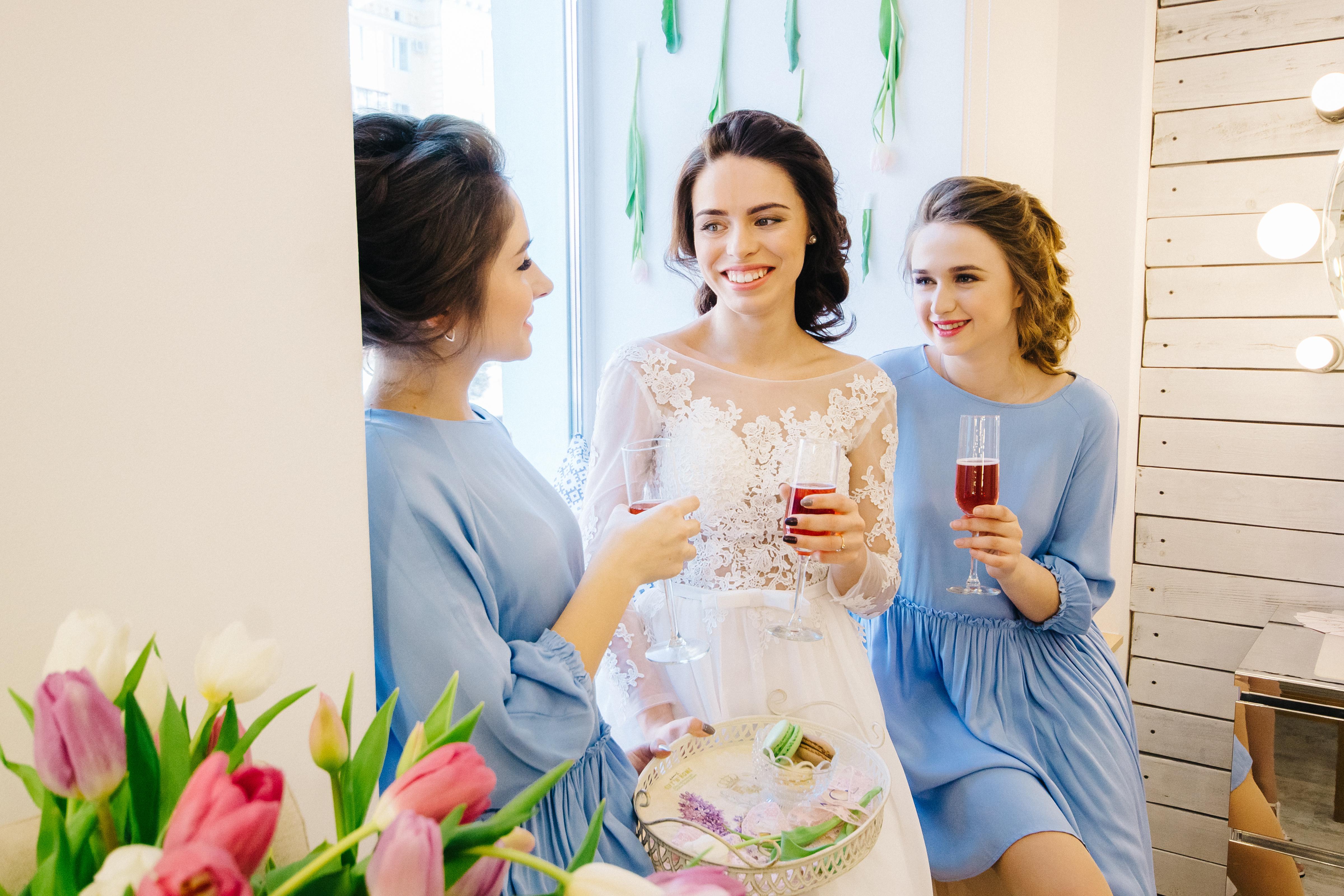 Фотосессия утра невесты