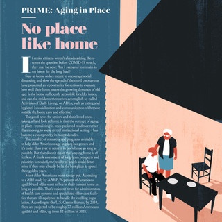 Distinction magazine - Aging in Place | No Place Like Home