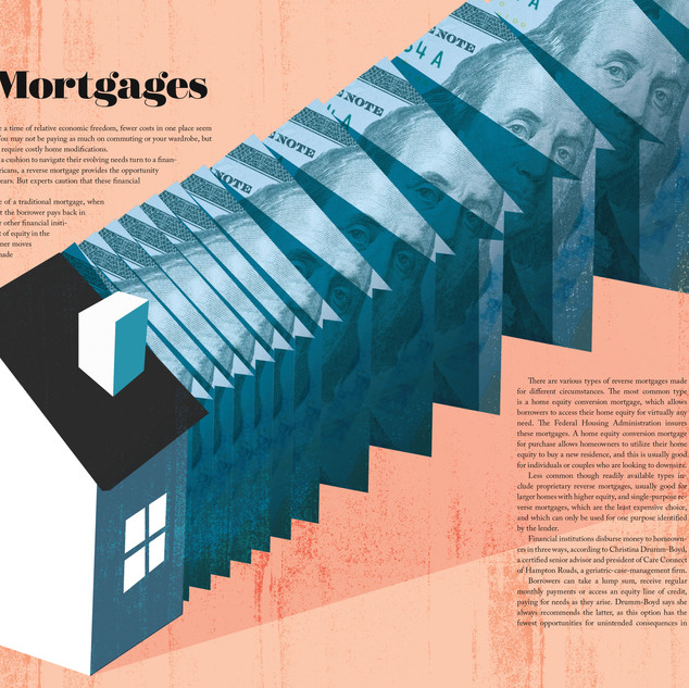 Distinction magazine - Aging in Place | Reverse Mortgages
