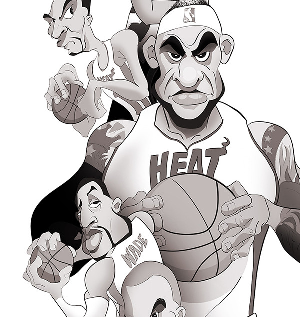 NBA Championship - Heat vs Spurs