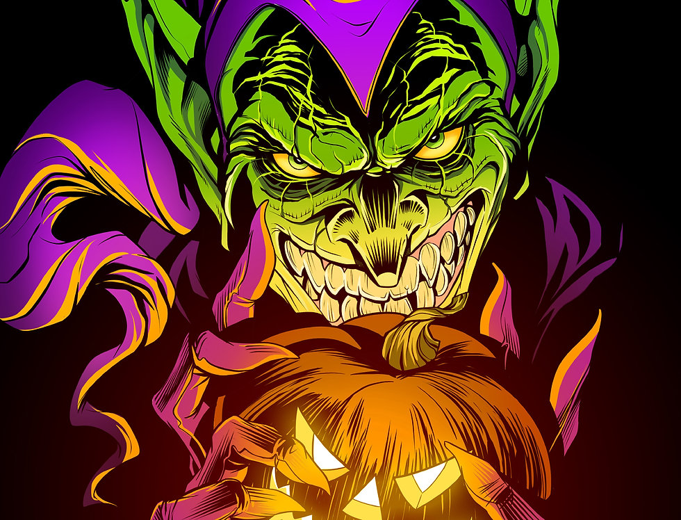 Green Goblin 11x17 Print