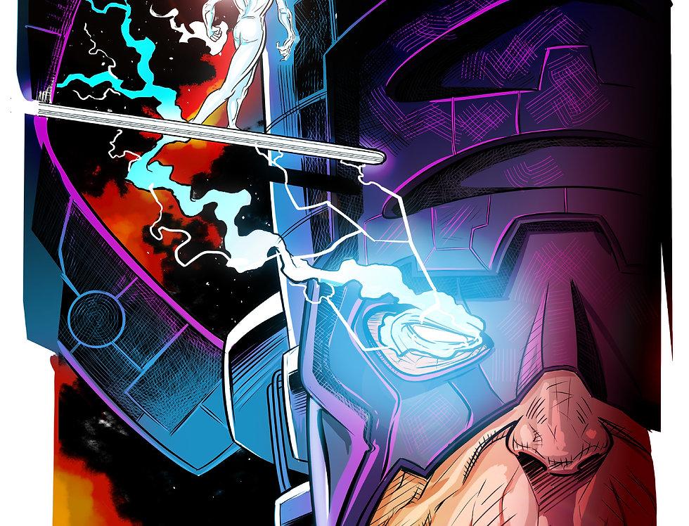 Herald of Galactus 11x17 Print