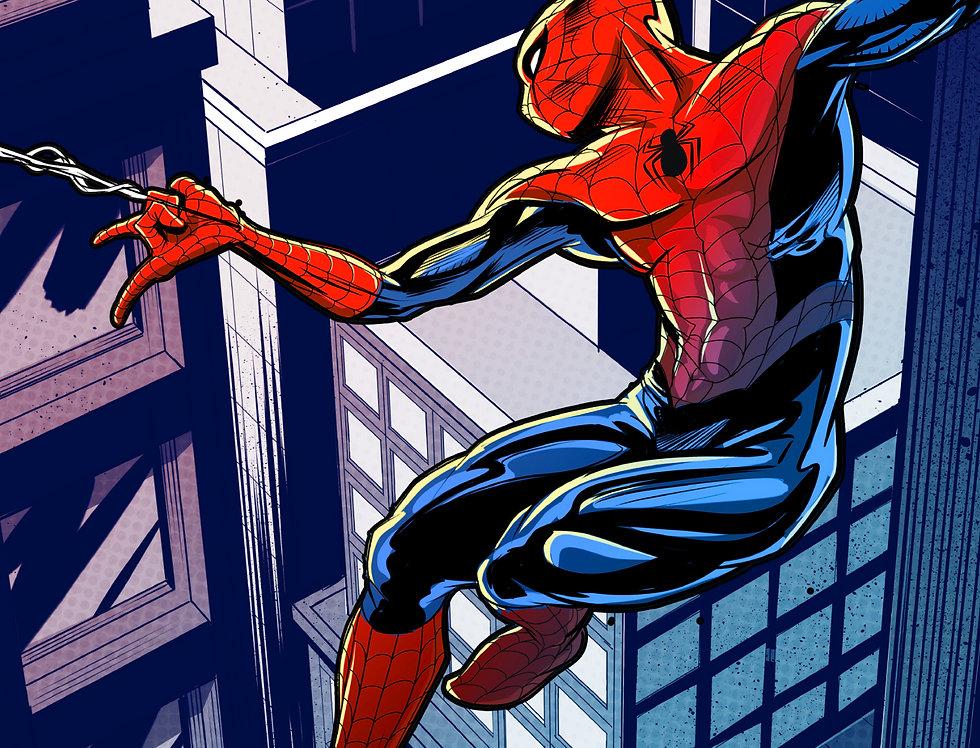 Spider-Man 11x17 Print