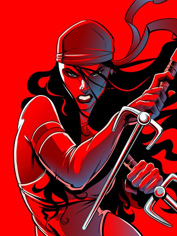 Red Ninja Lady