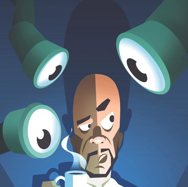 Employee spying