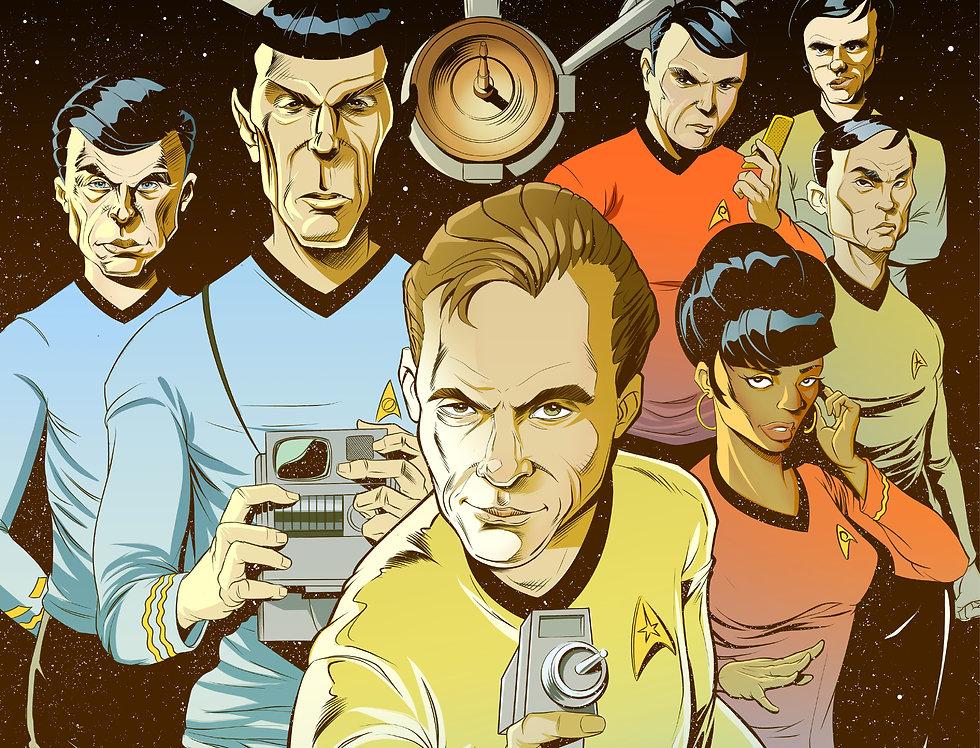 Star Trek Print 11x17