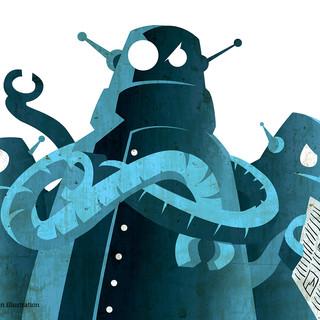 Apocalypse Newpaper-Robots