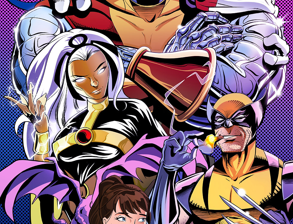 X-Men 11x17 Print