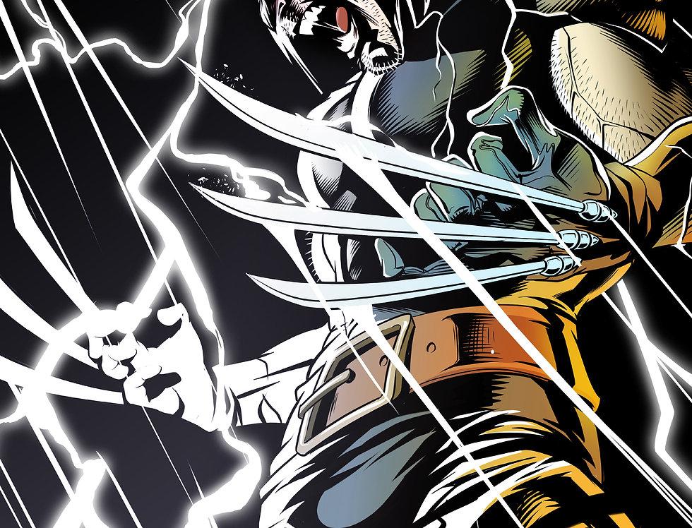 Wolverine Print 11x17