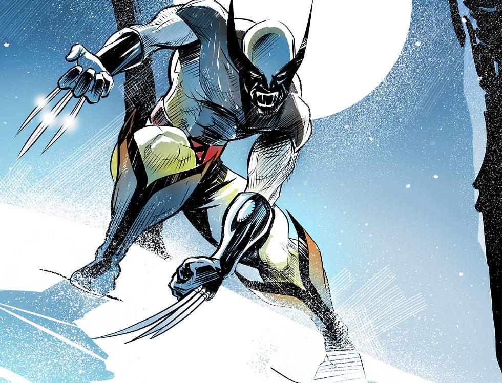Wolverine 11x17 Print