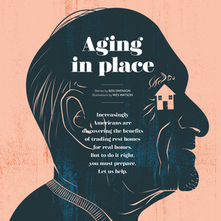 Distinction magazine - Aging in Place Intro