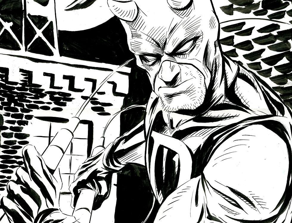 Daredevil 11x17 Original