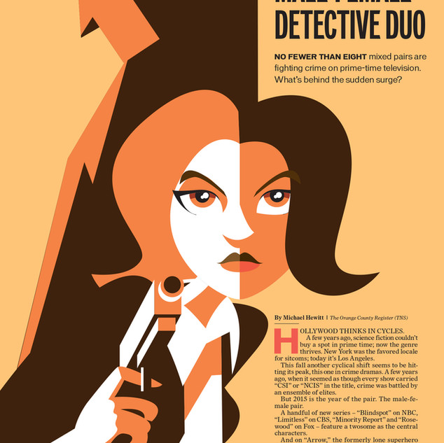 The Curious Case of the Male-Female Detective Duo