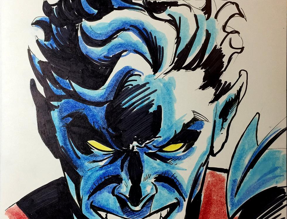 Nightcrawler Sketch Cover Color