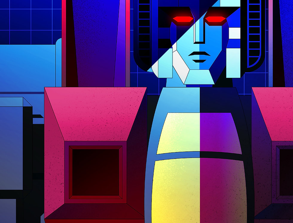 Starscream Print 11x17