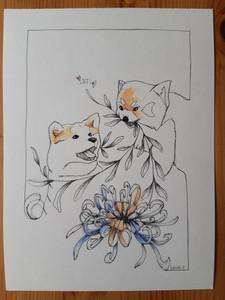 Lylou Tattoo Illustration