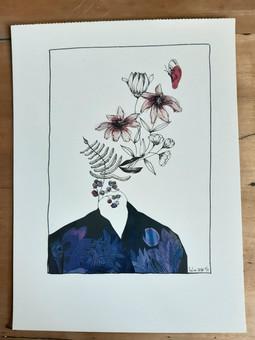Flowers talk - Lylou Tattoo