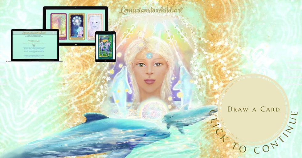 New: draw a card from the Lemurian Starchild Oracle