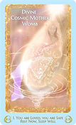 Divine Cosmic Mother Womb card