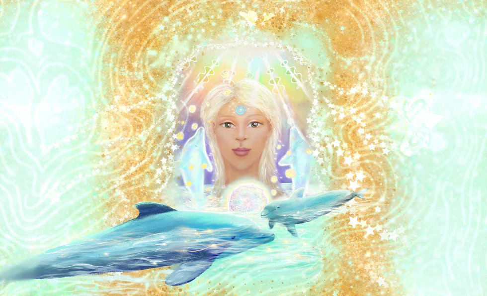Lemurian Starchild Oracle Cover