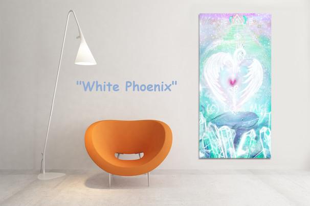 White Phoenix 120x60cm £89