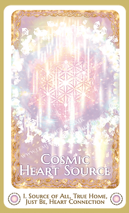 cosmicHeart Source watermarked card only