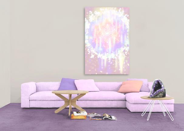 Cosmic Heart Source  120x80cm £99