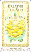 Breathe the Sun card