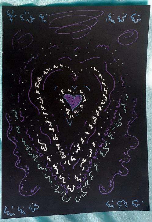 Light-encoded Symbolic Drawing