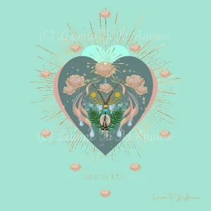 Blessings of Rose Quartz and the Higher Heart