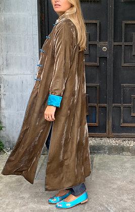 La Voluptueuse, Taupe/ Turquoise
