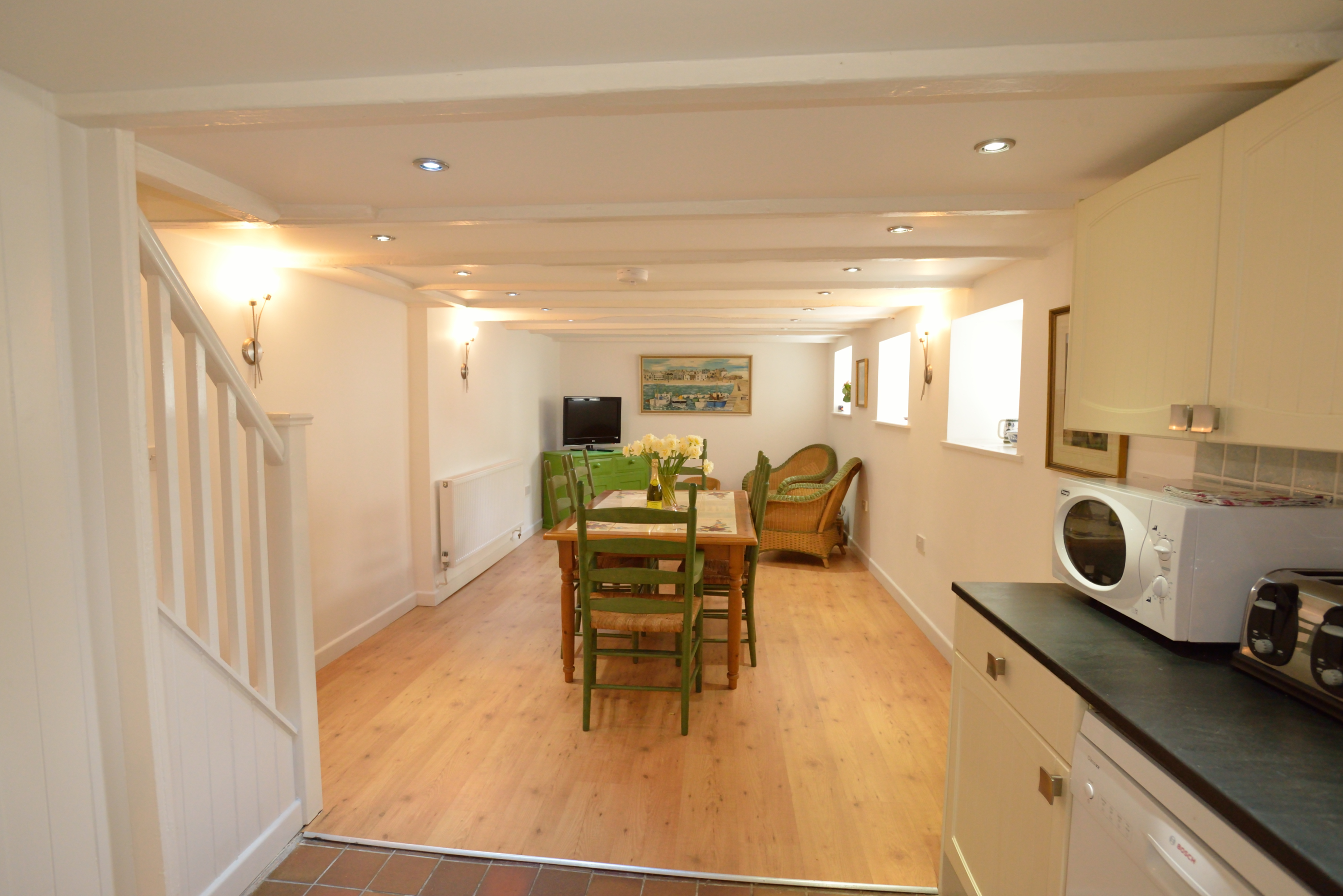 Holiday let in St Ives Cornwall