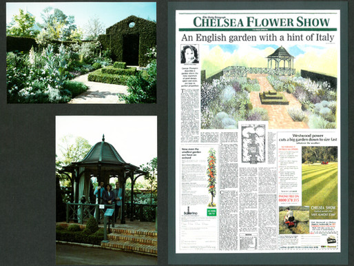 3 Gold Medal Winner for Show Gardens at Chelsea Flower Show