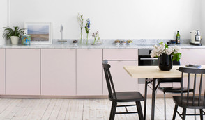 Kitchen Design: A LUSH BLUSH look