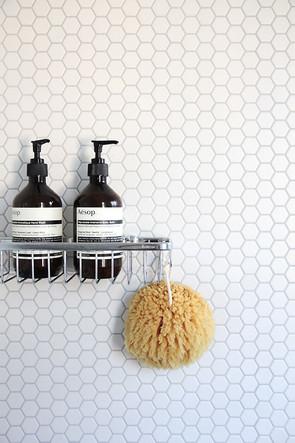 Hexagon tiles for the bathroom and en-suites