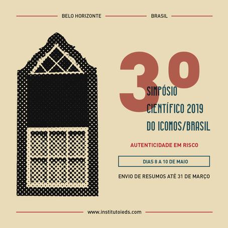 3º Simpósio Científico do ICOMOS/Brasil: Autenticidade em risco