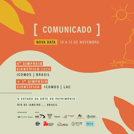 4º Simpósio Científico do ICOMOS Brasil e 1º Simposio Científico ICOMOS/LAC