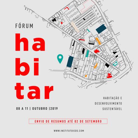 Fórum HABITAR 2019: Habitação e Desenvolvimento Sustentável