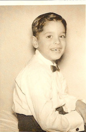Chuck Pisciotta - approx. 8 years old