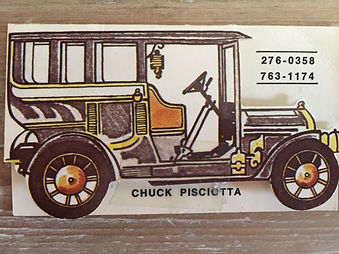 Chuck Pisicotta - First Business Card