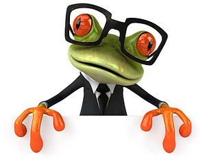 80165086-cartoon-frog-in-suit-with-glass