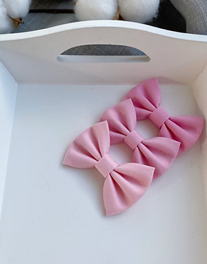 Pink Cotton Bows