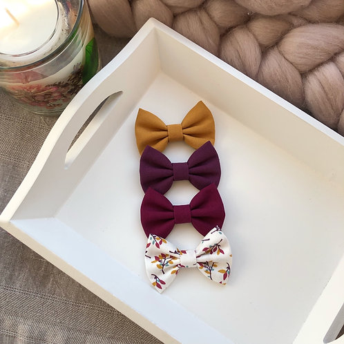 Autumn Leaves Bows