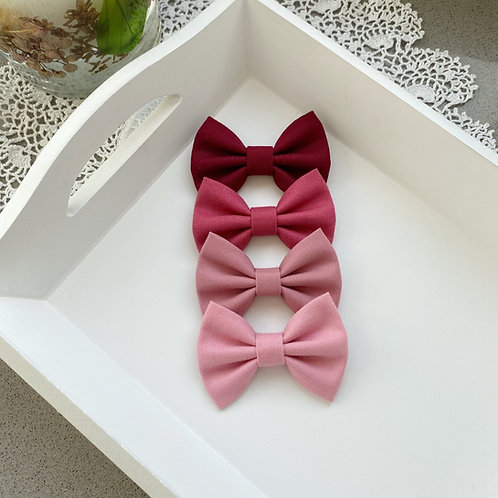 Rose Cotton Bows