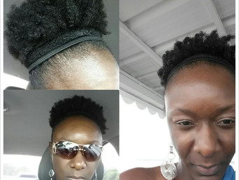 LISA'S REGIMEN FOR HER FINE NATURAL HAIR