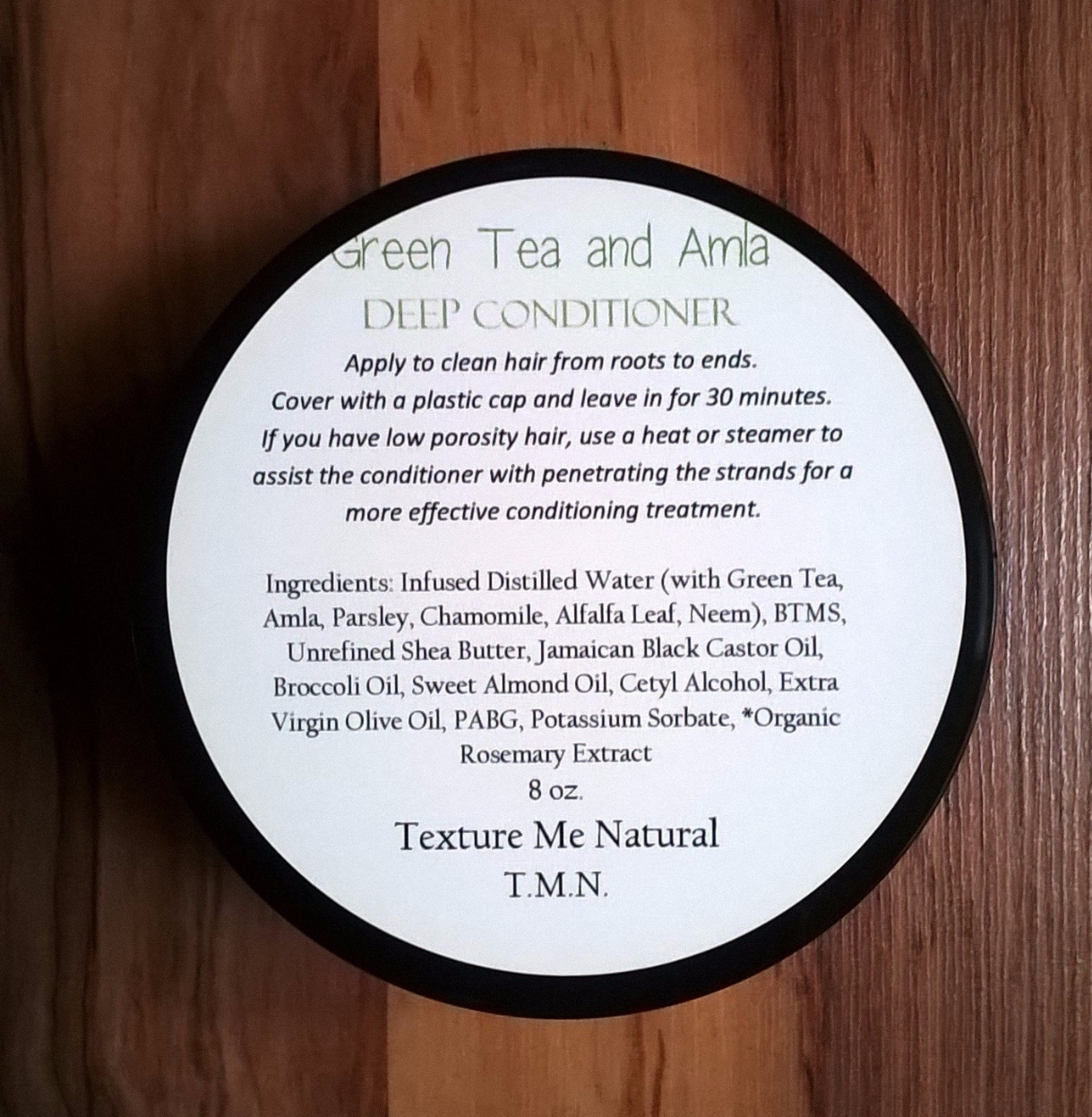 Green Tea and Amla Deep Conditioner